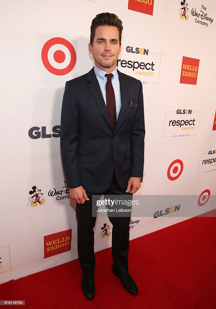 Honorary co-chair Matt Bomer attends the 2016 GLSEN Respect Awards - Los Angeles at the Beverly Wilshire Four Seasons Hotel on October 21, 2016 in Beverly Hills, California.
