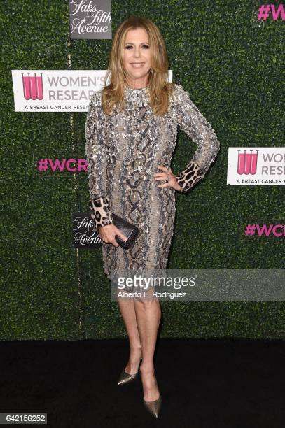 Honorary CoChair Rita Wilson attends WCRF's An Unforgettable Evening presented by Saks Fifth Avenue at the Beverly Wilshire Four Seasons Hotel on...