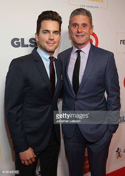 Honorary CoChairs Matt Bomer and Simon Halls attend the 2016 GLSEN Respect Awards Los Angeles at the Beverly Wilshire Four Seasons Hotel on October...