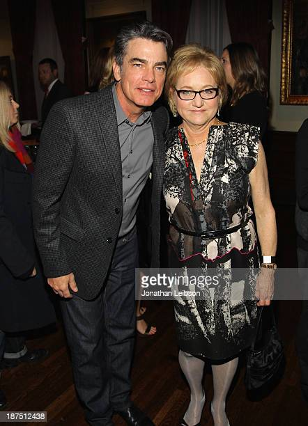 Honorary Committee member Peter Gallagher and IMF Board of Directors Event Chair Loraine Boyle attend the International Myeloma Foundation's 7th...