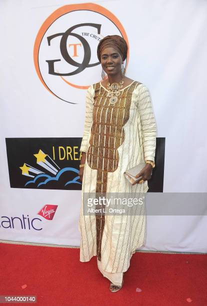 Honorary Consul Of Senegal Mame Toucouleur Mbaye arrives for 2nd Annual HAPAwards held at Alex Theatre on September 30 2018 in Glendale California