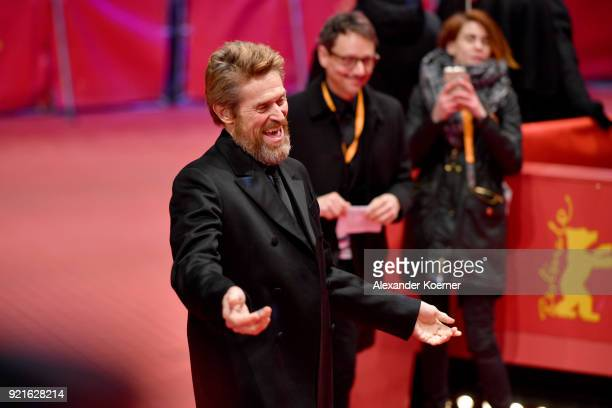 Honorary Golden Bear Winner Willem Dafoe attends the Homage Willem Dafoe Honorary Golden Bear award ceremony and 'The Hunter' screening during the...