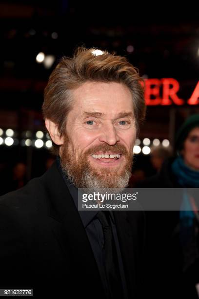 Honorary Golden Bear Winner Willem Dafoe attends the Hommage Willem Dafoe Honorary Golden Bear award ceremony and 'The Hunter' screening during the...