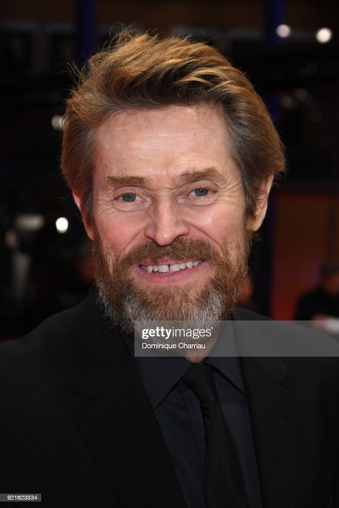 Honorary Golden Bear Winner Willem Dafoe attends the Hommage Willem Dafoe - Honorary Golden Bear award ceremony and 'The Hunter' screening during the 68th Berlinale International Film Festival Berlin at Berlinale Palast on February 20, 2018 in Berlin, Germany.