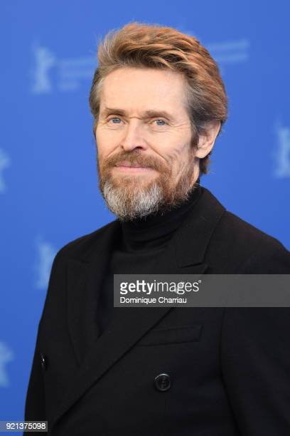 Honorary Golden Bear Winner Willem Dafoe poses at the Hommage Willem Dafoe photo call during the 68th Berlinale International Film Festival Berlin at...