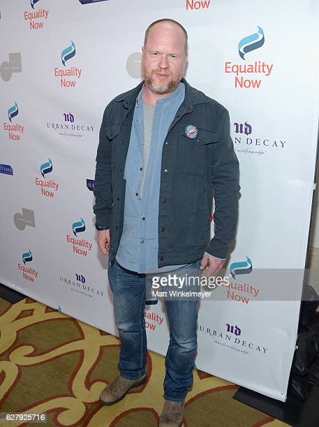 Honorary Host Committee Member Joss Whedon attends Equality Now's third annual 'Make Equality Reality' Gala on December 5 2016 in Beverly Hills...