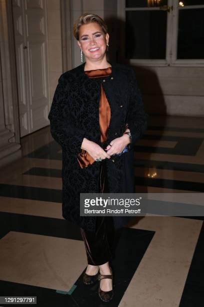"Honorary President Grand Duchess Maria Teresa of Luxembourg attends the ""Prix de la Femme d'Influence de l'Annee"" at Palais Brogniart on December 14,..."