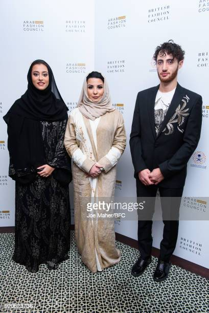 Honorary President of the Arab Council H H Princess Noura Bint Faisal Al Saud Country Director Saudi Arabia The Arab Fashion Council Ms Layla Issa...