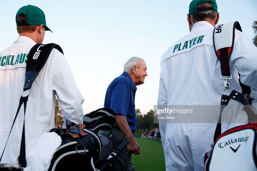 The Masters - Round One : News Photo
