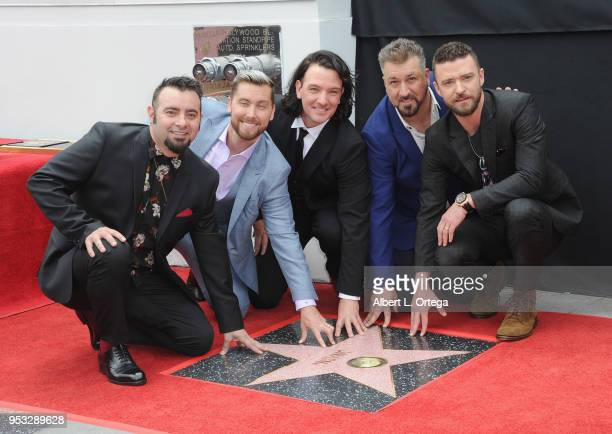 Honored With Star On The Hollywood Walk Of Fame held on April 30 2018 in Hollywood California