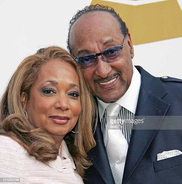 Honoree Abdul Duke Fakir of the Four Tops and wife Piper Fakir arrive at The Recording Academy's Special Merit Awards Ceremony at Wilshire Ebell...