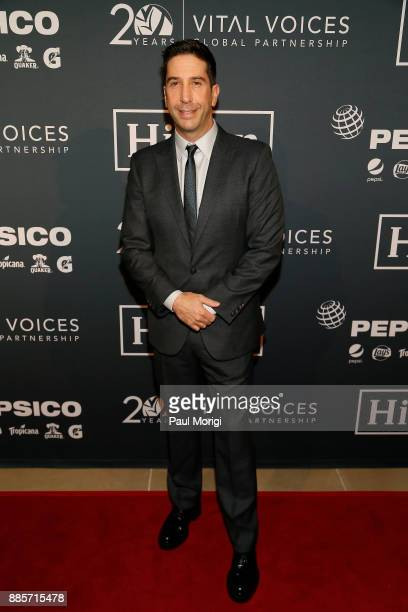 Honoree Actor and Director David Schwimmer attends Vital Voices Global Partnership 2017 Voices Against Solidarity Awards at IAC HQ on December 4 2017...