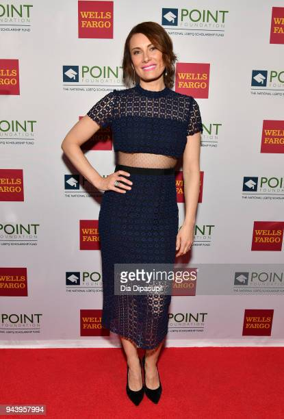 Honoree Actor Laura Benanti attends as Point Foundation hosts Annual Point Honors New York Gala Celebrating The Accomplishments Of LGBTQ Students at...