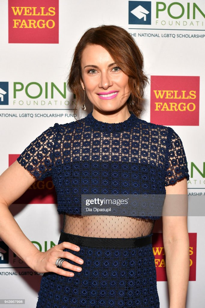 Honoree Actor Laura Benanti attends as Point Foundation hosts Annual Point Honors New York Gala Celebrating The Accomplishments Of LGBTQ Students at The Plaza Hotel on April 9, 2018 in New York City.