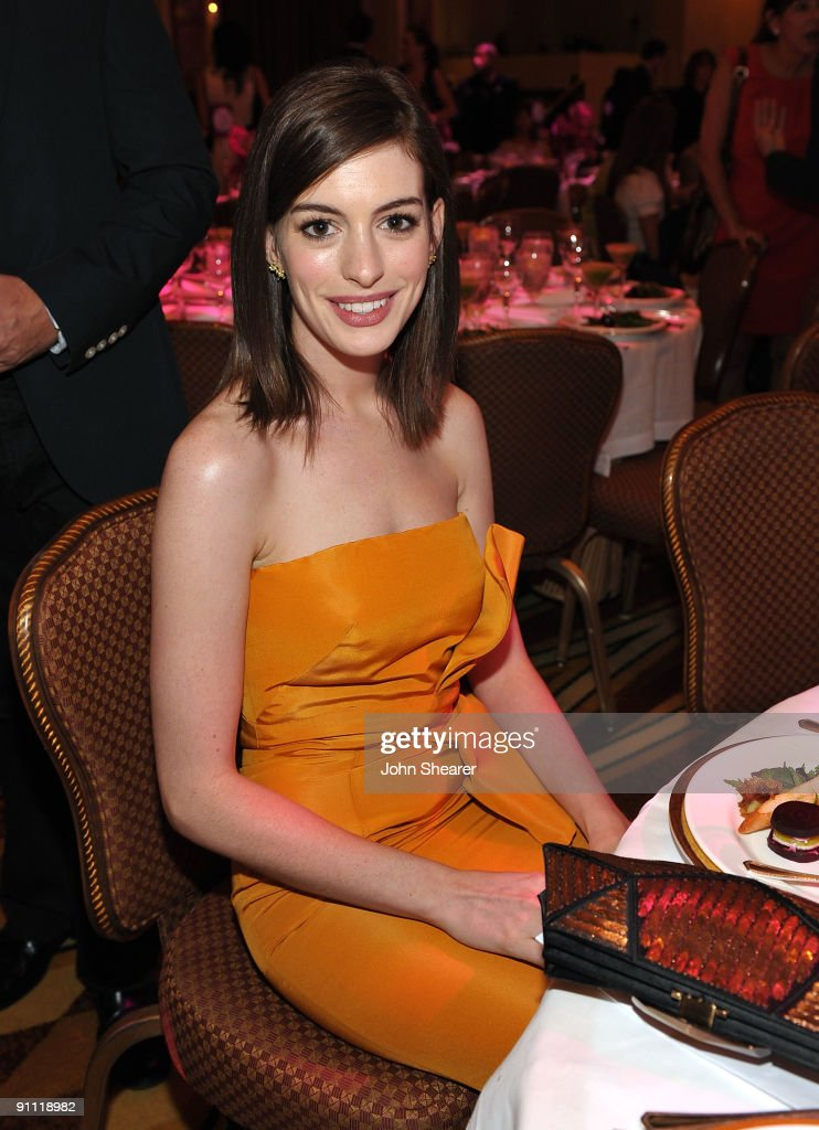 Honoree actress Anne Hathaway attends Variety's 1st Annual Power of Women Luncheon at the Beverly Wilshire Hotel on September 24, 2009 in Beverly Hills, California.