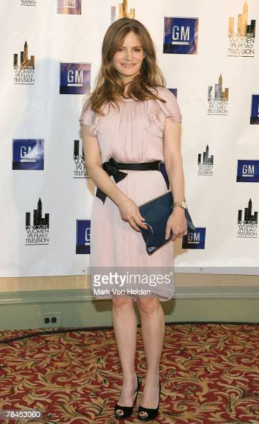 Honoree actress Jennifer Jason Leigh attends the 27th Annual New York Women in Film and Television's MUSE Awards Luncheon at the New York Hilton and...