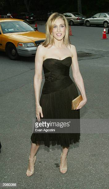 Honoree actress Sarah Jessica Parker attends the Fresh Air Fund Salute To American Heroes at Tavern On The Green June 5 2003 in New York City