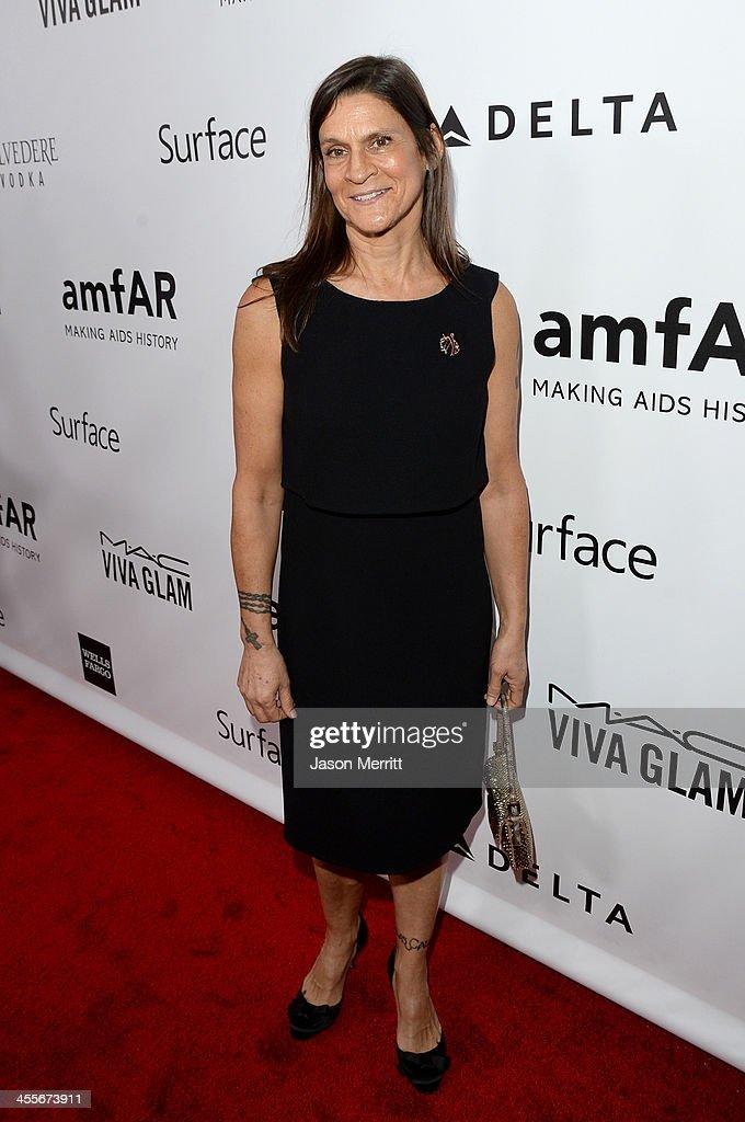 2013 amfAR Inspiration Gala Los Angeles Presented By MAC Viva Glam - Red Carpet