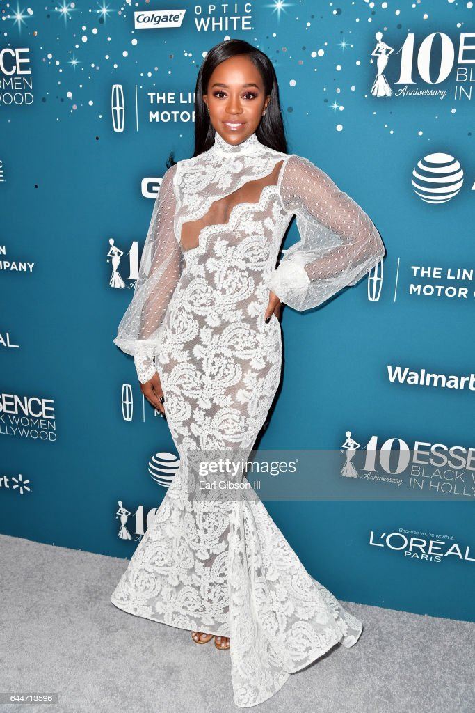 Honoree Aja Naomi King at Essence Black Women in Hollywood Awards at the Beverly Wilshire Four Seasons Hotel on February 23, 2017 in Beverly Hills, California.