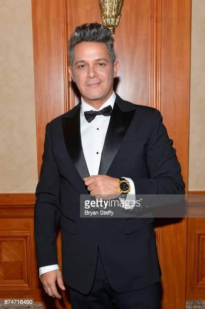 Honoree Alejandro Sanz attends the 2017 Person of the Year Gala honoring Alejandro Sanz at the Mandalay Bay Convention Center on November 15 2017 in...