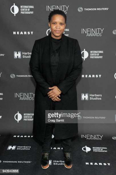 Honoree Alexandra Bell attends the International Center Of Photography's 2018 Infinity Awards on April 9 2018 in New York City