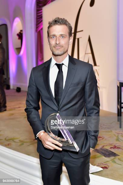 Honoree Alexi Lubomirski recipient of the Photographer of the Year award attends The Daily Front Row's 4th Annual Fashion Los Angeles Awards at...