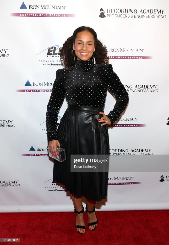 60th Annual GRAMMY Awards - Producers And Engineers Wing 11th Annual GRAMMY Week Event Honoring Swizz Beatz And Alicia Keys
