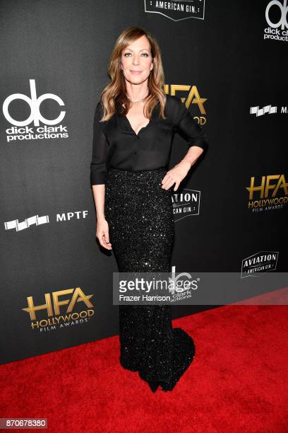 Honoree Allison Janney attends the 21st Annual Hollywood Film Awards at The Beverly Hilton Hotel on November 5 2017 in Beverly Hills California