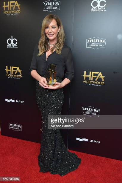 Honoree Allison Janney recipient of the Hollywood Supporting Actress Award for 'I Tonya' and corecipient of Hollywood Ensemble Award for 'I Tonya'...