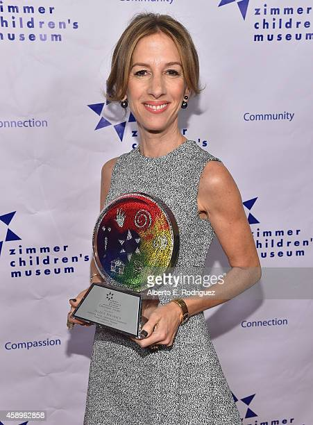 Honoree Allison Shearmur attends The Zimmer Children's Museum's 14th Annual Discovery Awards Dinner Honoring Dick Lippin and Allison Shearmur at the...