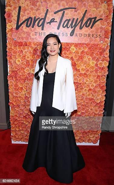 Honoree Amanda Nguyen arrives at Lord Taylor at Young Women's Honors at Marina del Rey Marriott on November 19 2016 in Marina del Rey California
