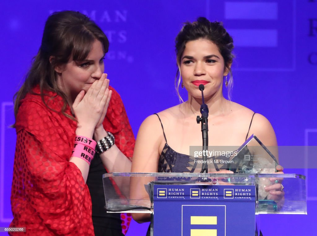 Human Rights Campaign's 2017 Los Angeles Gala Dinner - Show : News Photo