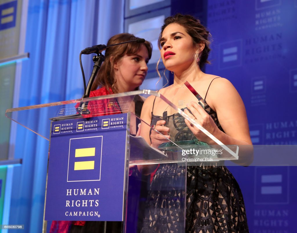 The Human Rights Campaign 2017 Los Angeles Gala Dinner - Inside : News Photo