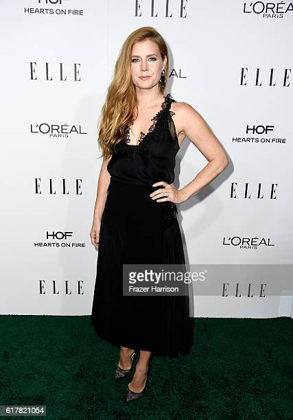 Honoree Amy Adams attends the 23rd Annual ELLE Women In Hollywood Awards at Four Seasons Hotel Los Angeles at Beverly Hills on October 24 2016 in Los...