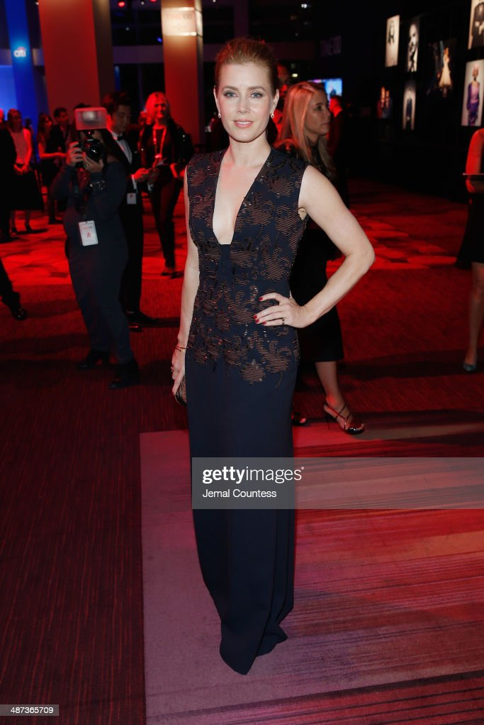 Honoree Amy Adams attends the TIME 100 Gala, TIME's 100 most influential people in the world, at Jazz at Lincoln Center on April 29, 2014 in New York City.