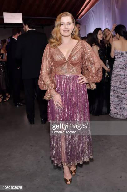 Honoree Amy Adams poses at the 2018 Baby2Baby Gala Presented by Paul Mitchell at 3LABS on November 10 2018 in Culver City California