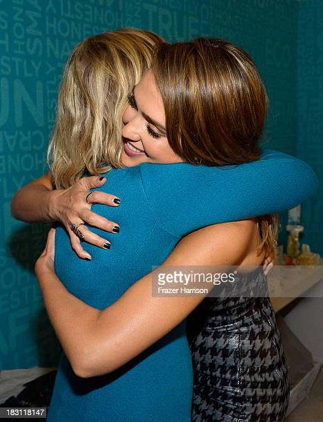 Honoree Amy Poehler and The Honest Company's Jessica Alba attend Variety's 5th Annual Power of Women event presented by Lifetime at the Beverly...