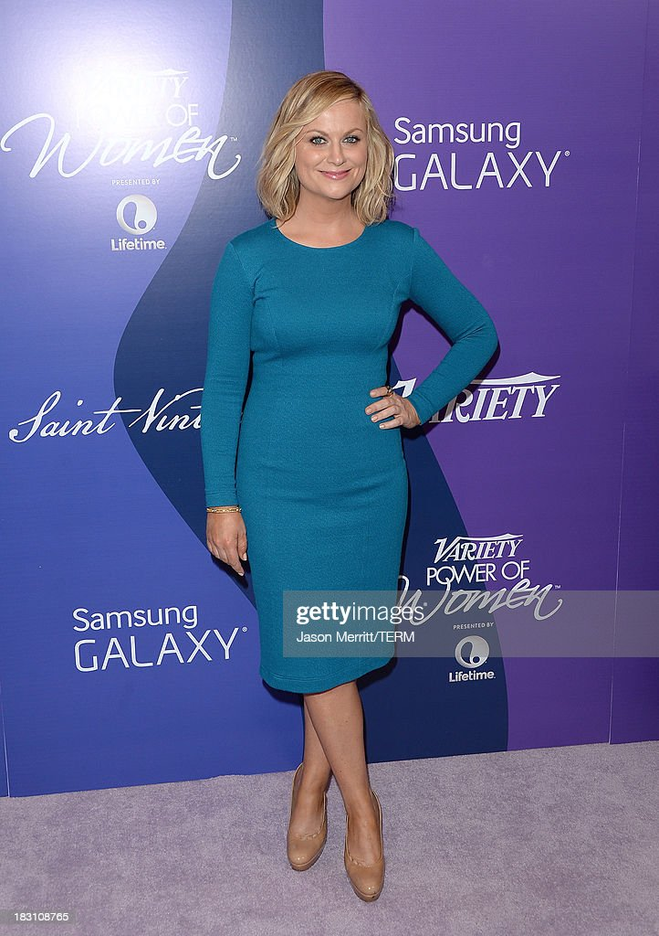 Honoree Amy Poehler arrives at Variety's 5th Annual Power of Women event presented by Lifetime at the Beverly Wilshire Four Seasons Hotel on October 4, 2013 in Beverly Hills, California.