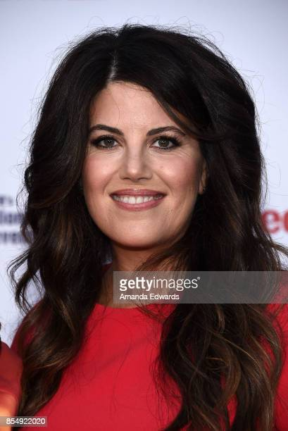 Honoree and activist Monica Lewinsky arrives at TLC's Give A Little Awards at NeueHouse Hollywood on September 27 2017 in Los Angeles California