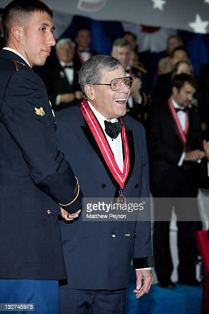 Honoree and Actor/Comedian Jerry Lewis attends the Ellis Island Medals of Honor sponsored by NECO National Ethnic Coalition of Organizations at Ellis...