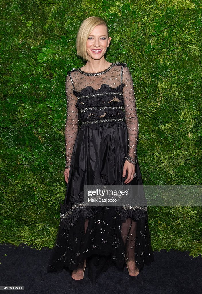 Honoree and actress Cate Blanchett attends the 8th Annual Museum Of Modern Art Film Benefit Honoring Cate Blanchett on November 17, 2015 in New York City.