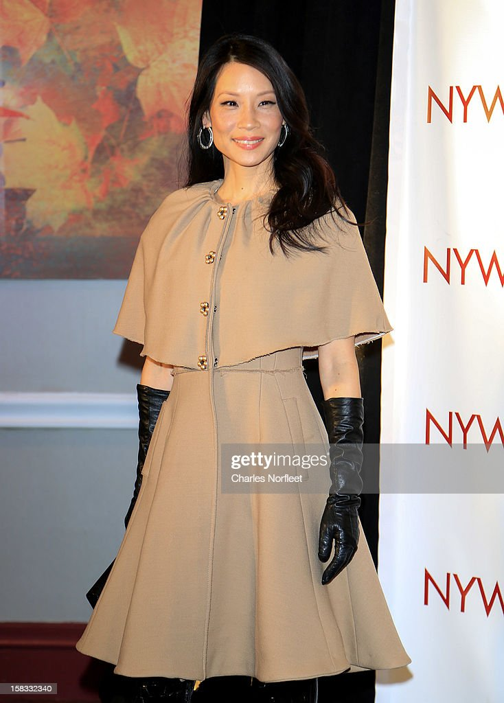 Honoree and actress Lucy Liu attends the 2012 New York Women In Film And Television Muse Awards at the Hilton New York on December 13, 2012 in New York City.