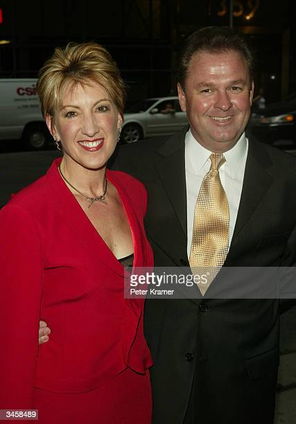 Honoree and CEO of Hewlett Packard Carly Fiorina and husband Frank attend the Sundance Institute Honors Risk Takers in the Arts 3rd Annual Gala April...