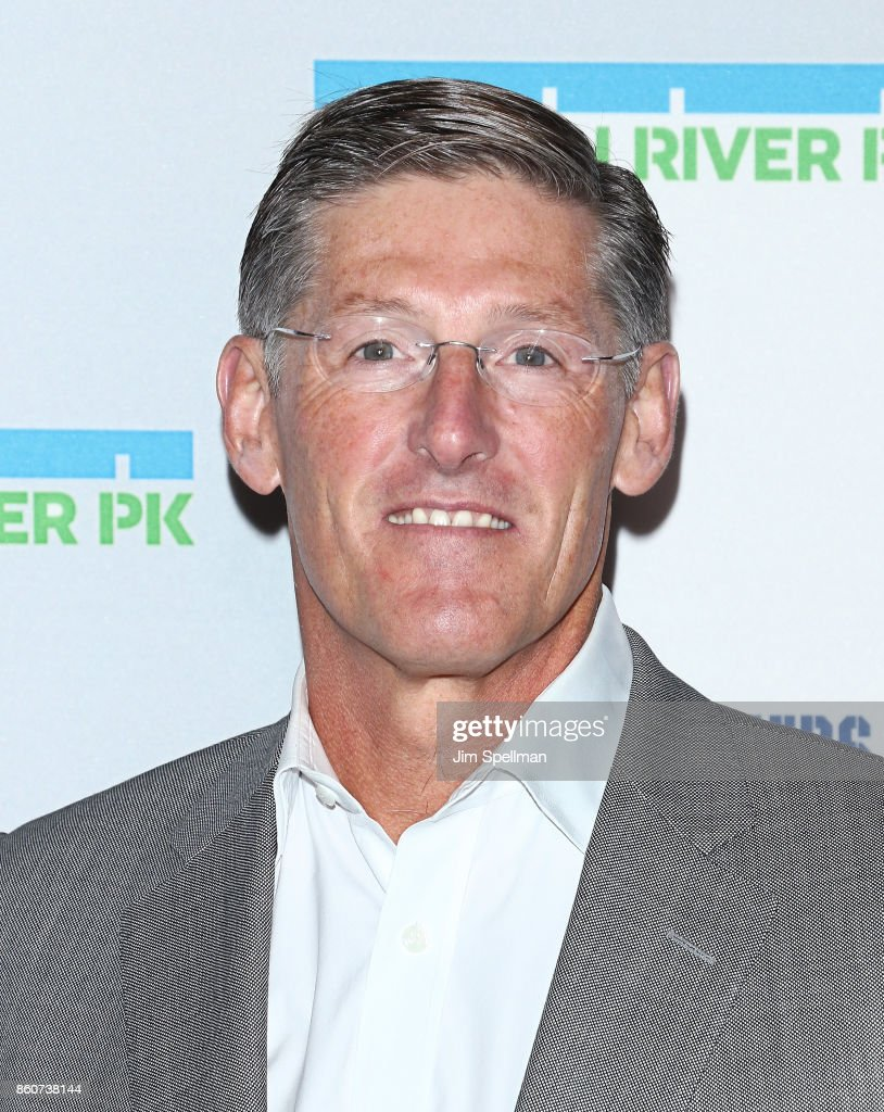 Honoree and chief executive officer of Citigroup Michael Corbat attends the 2017 Hudson River Park gala at Hudson River Park's Pier 62 on October 12, 2017 in New York City.