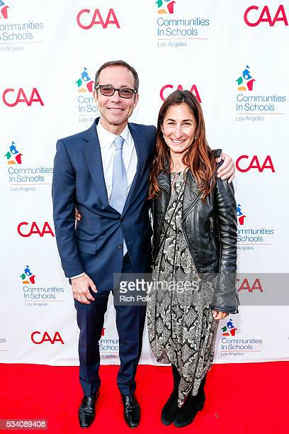 Honoree and Creative Artists Agency President Richard Lovett and Executive Director CISLA Deborah Marcus attend the communities in schools of Los...