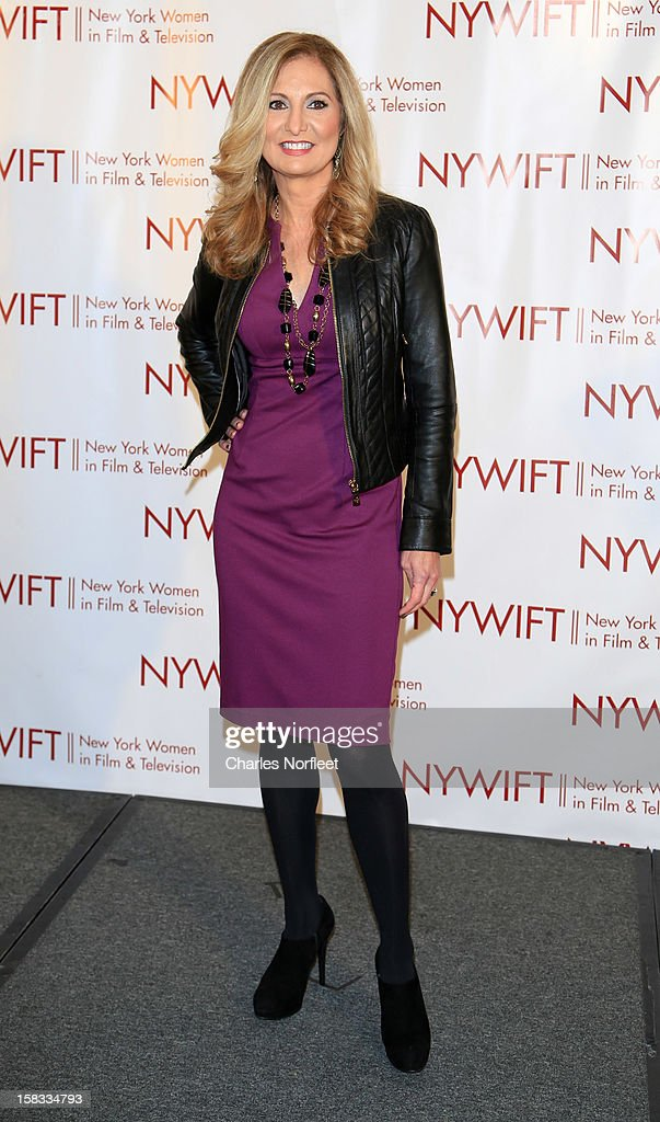 Honoree and General Manager of WE tv Kim Martin attends the 2012 New York Women In Film And Television Muse Awards at the Hilton New York on December 13, 2012 in New York City.