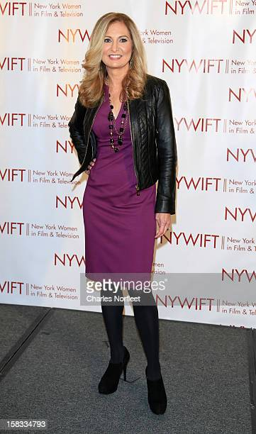 Honoree and General Manager of WE tv Kim Martin attends the 2012 New York Women In Film And Television Muse Awards at the Hilton New York on December...