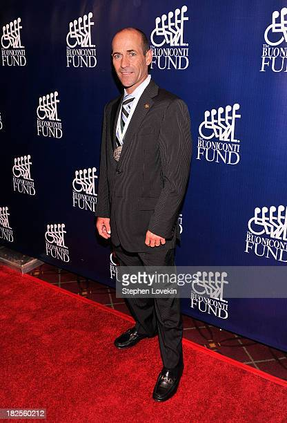 Honoree and Jockey Gary Stevens attends the 28th Annual Great Sports Legends Dinner to Benefit The Buoniconti Fund To Cure Paralysis at The...