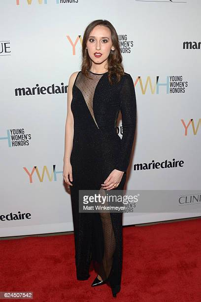 Honoree and physicist Sabrina Gonzalez Pasterski attends the 1st annual Marie Claire Young Women's Honors at Marina del Rey Marriott on November 19...