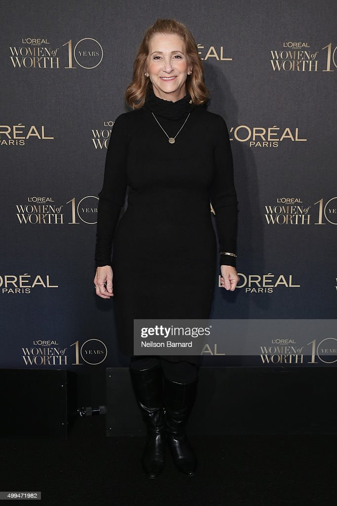 Honoree and President/CEO at The Jonas Project Teri Kelsall attends the L'Oreal Paris Women of Worth 2015 Celebration - Arrivals at The Pierre Hotel on December 1, 2015 in New York City.